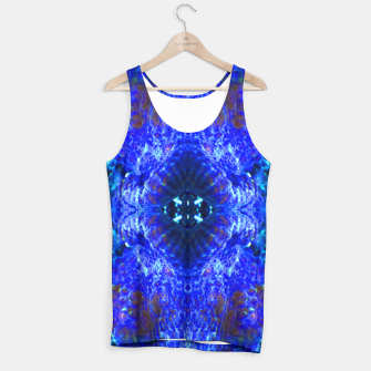 Thumbnail image of Blue Rorschach 3 Tank Top, Live Heroes