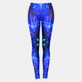 Thumbnail image of Blue Rorschach 3 Leggings, Live Heroes