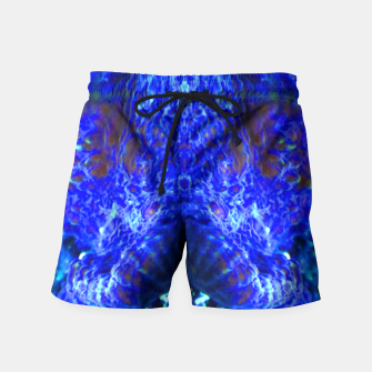 Thumbnail image of Blue Rorschach 3 Swim Shorts, Live Heroes
