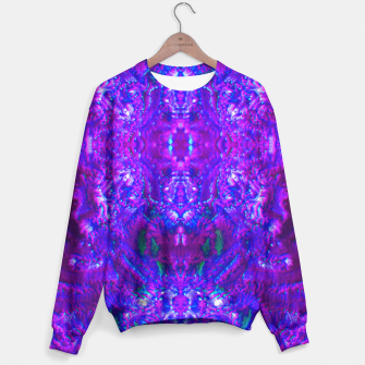 Thumbnail image of Fuzzy Purple  Cactus Sweater, Live Heroes