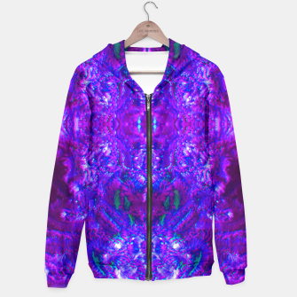 Thumbnail image of Fuzzy Purple  Cactus Hoodie, Live Heroes