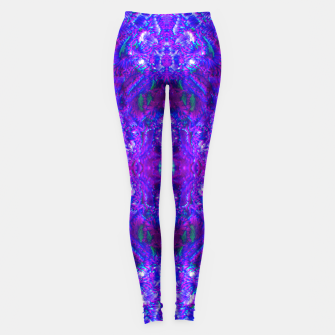 Thumbnail image of Fuzzy Purple  Cactus Leggings, Live Heroes