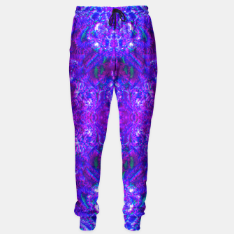 Thumbnail image of Fuzzy Purple  Cactus Sweatpants, Live Heroes