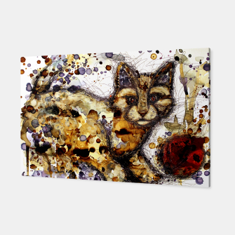 Thumbnail image of Coffee Cat Canvas, Live Heroes