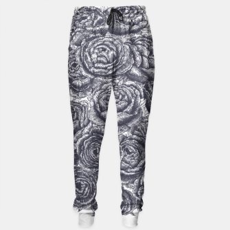 Thumbnail image of Lungs with peonies Sweatpants, Live Heroes