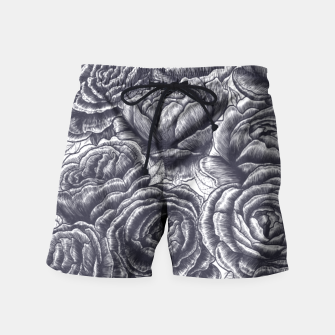 Thumbnail image of Lungs with peonies Swim Shorts, Live Heroes