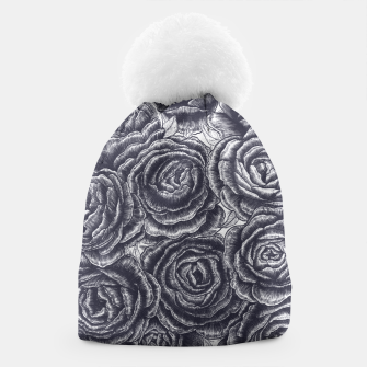 Thumbnail image of Lungs with peonies Beanie, Live Heroes