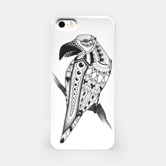 Miniatur Crow iPhone Case, Live Heroes