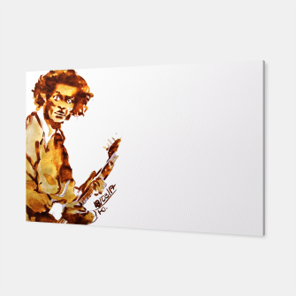 Thumbnail image of Chuck berry coffee guitar rock L Canvas, Live Heroes