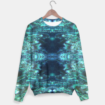Thumbnail image of Teal Tunnel Sweater, Live Heroes