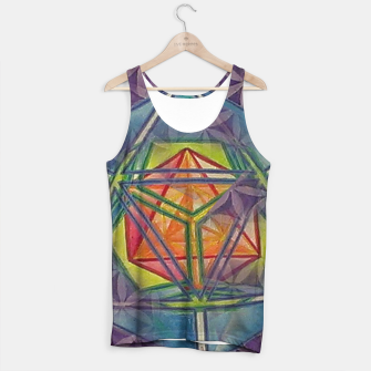 Thumbnail image of Metatrons Salvation Tank Top, Live Heroes