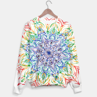 Thumbnail image of Rainbow mandala Sweater, Live Heroes