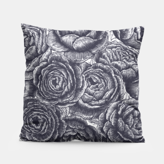 Thumbnail image of Lungs with peonies Pillow, Live Heroes