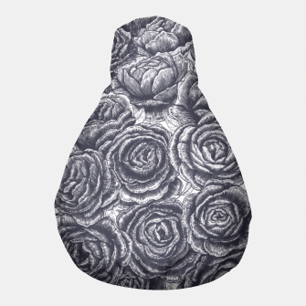 Thumbnail image of Lungs with peonies Pouf, Live Heroes