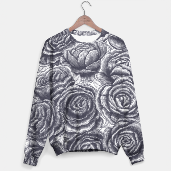 Thumbnail image of Lungs with peonies Sweater, Live Heroes