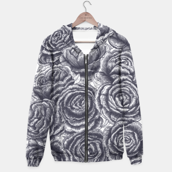 Thumbnail image of Lungs with peonies Hoodie, Live Heroes
