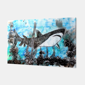 Thumbnail image of Tattooed swimmer Canvas, Live Heroes