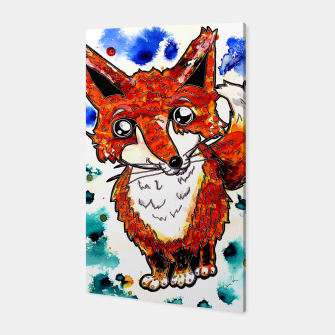Thumbnail image of Cuterrr Fox Canvas, Live Heroes