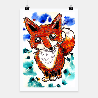 Thumbnail image of Cuterrr Fox Poster, Live Heroes
