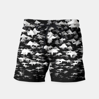 Thumbnail image of Flights of Fancy Swim Shorts, Live Heroes