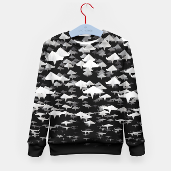 Thumbnail image of Flights of Fancy Kid's Sweater, Live Heroes