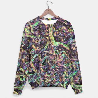 "Thumbnail image of ""Color roots 2"" Sweater, Live Heroes"