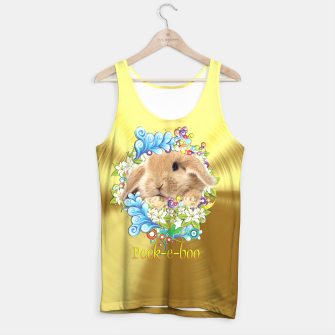 Thumbnail image of Peek-a-Book Bunny Tank Top, Live Heroes