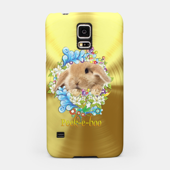 Thumbnail image of Peek-a-Book Bunny Samsung Case, Live Heroes