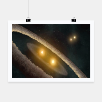 Thumbnail image of Four suns Poster, Live Heroes