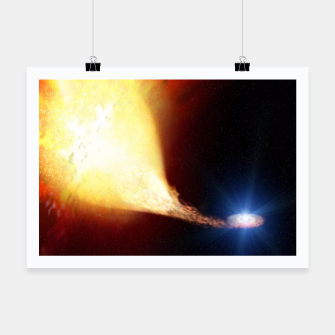 Thumbnail image of Explosive supernova Poster, Live Heroes