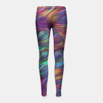 "Thumbnail image of ""Oh my Bow!"" Girl's Leggings, Live Heroes"