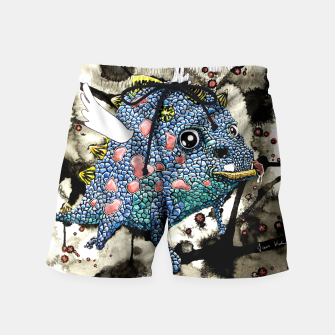 Thumbnail image of Wacky Dragon Swim Shorts, Live Heroes