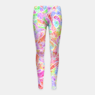 Thumbnail image of flrs Girl's Leggings, Live Heroes