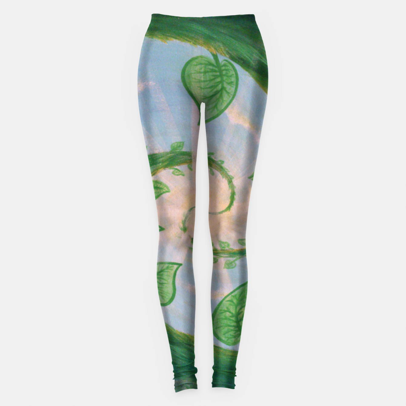 Image of Hurry Up and Wait Leggings - Live Heroes
