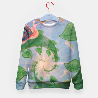 Thumbnail image of Hurry Up and Wait Kid's Sweater, Live Heroes
