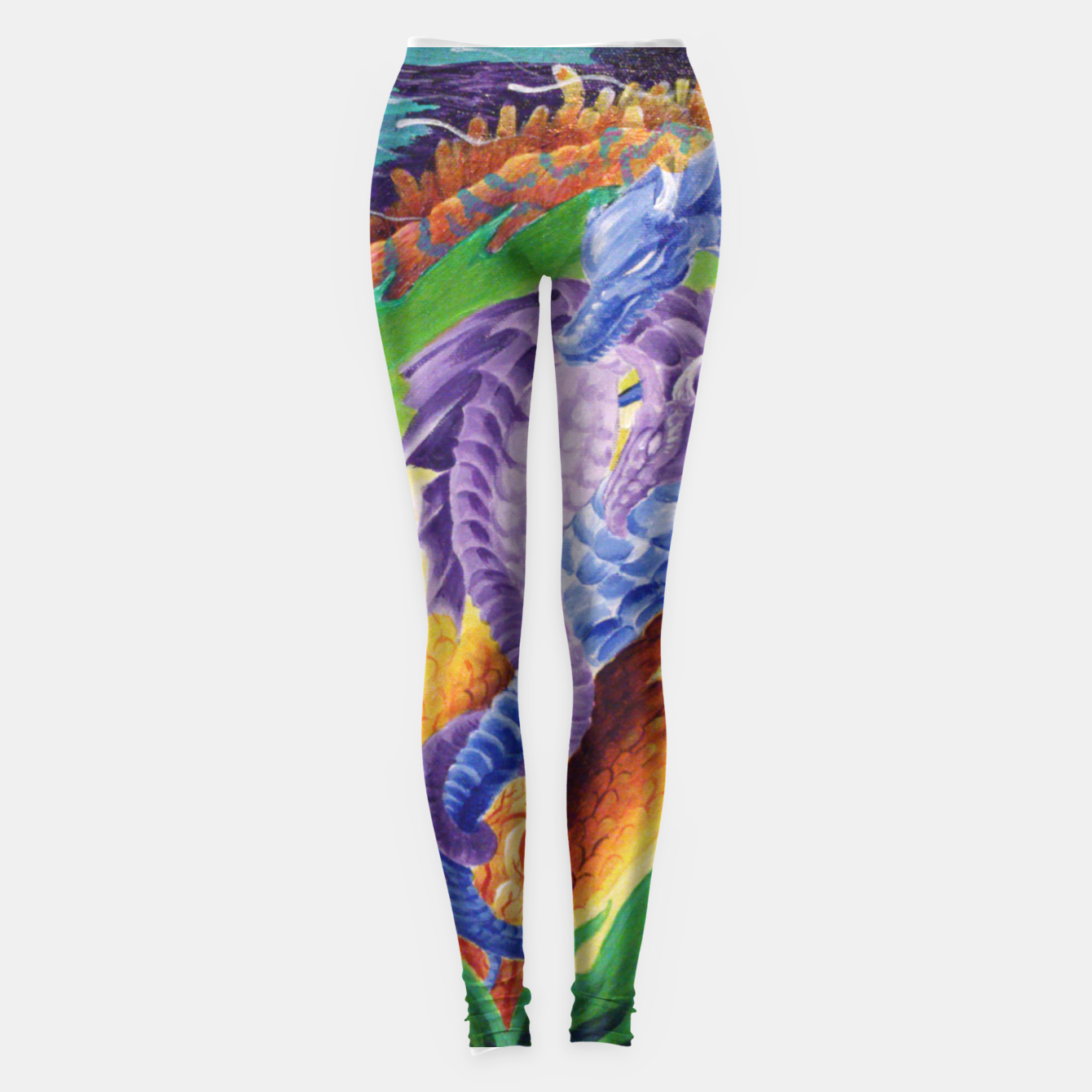 Image of Mated Pair Leggings - Live Heroes
