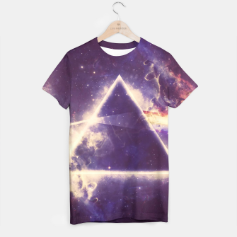 Miniatur Space Geometry T-shirt, Live Heroes