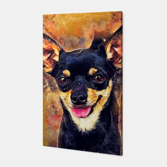 Thumbnail image of dog Bussy Canvas, Live Heroes