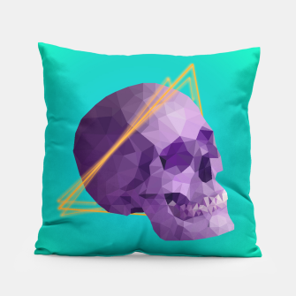 Thumbnail image of Halo Skull Pillow, Live Heroes