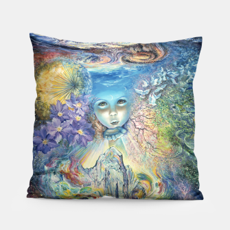 Thumbnail image of Child of the Universe Pillow, Live Heroes