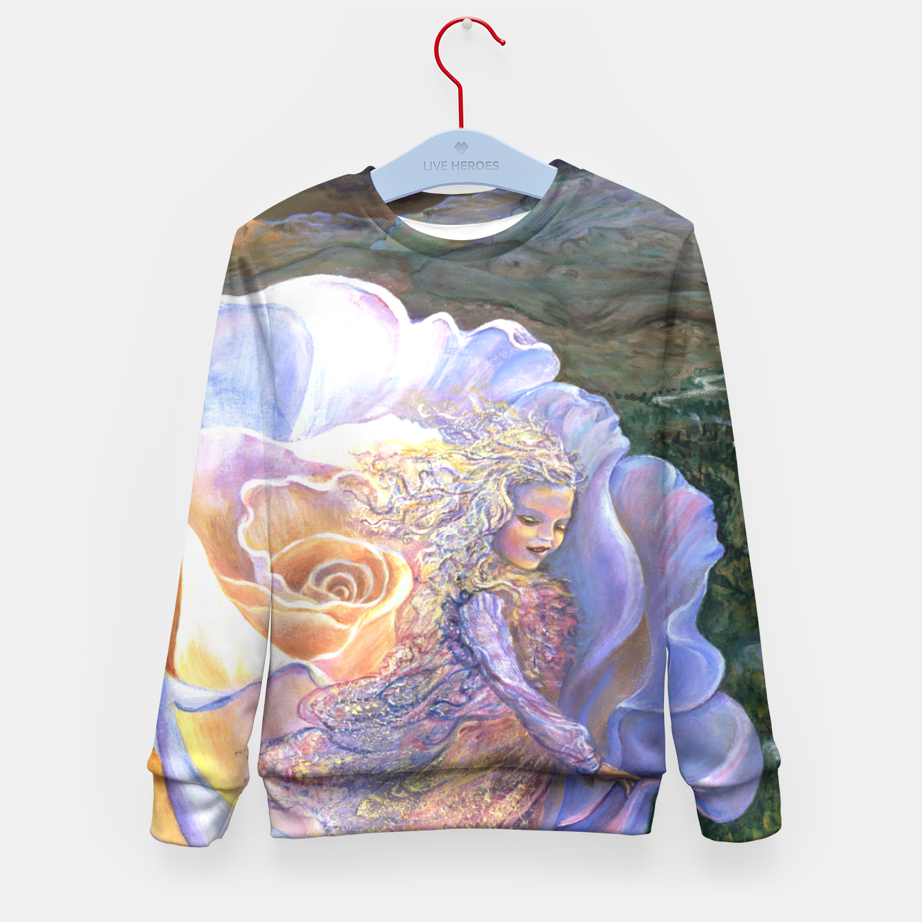 Image of Adrift Kid's Sweater - Live Heroes