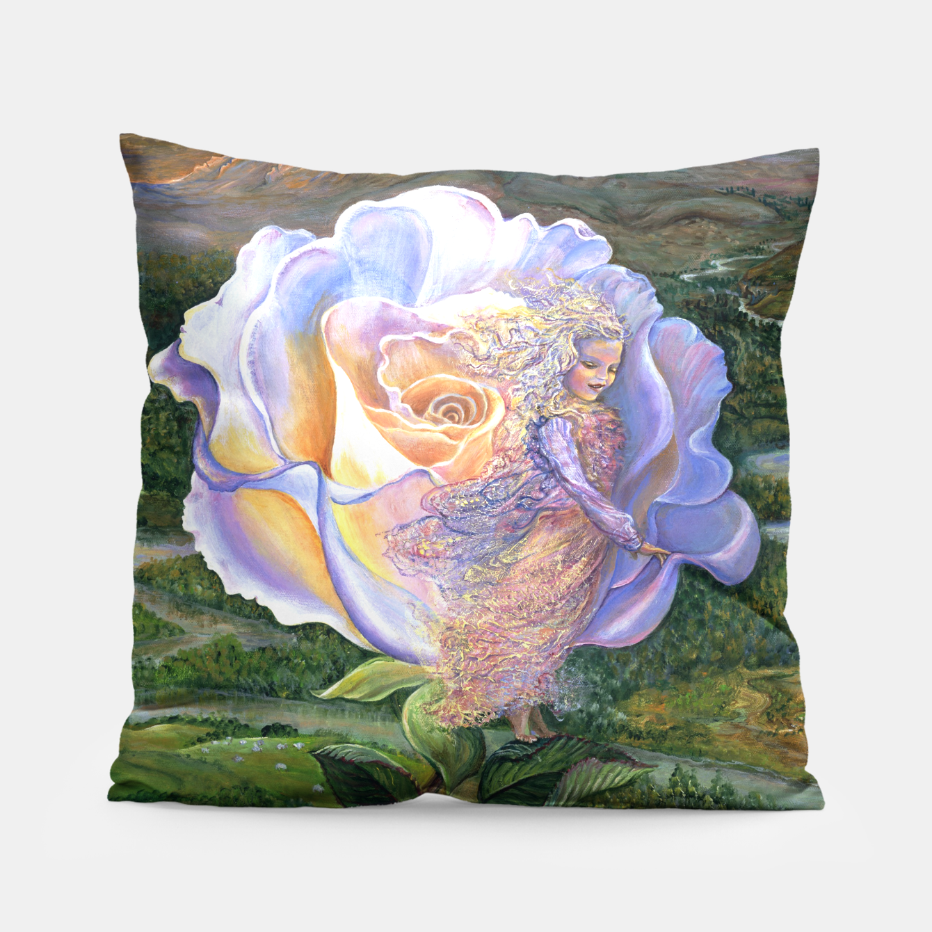 Image of Adrift Pillow - Live Heroes