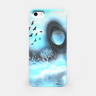 Space river iPhone Case obraz miniatury