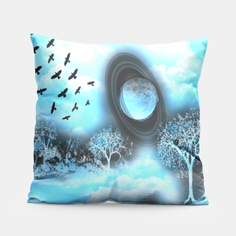 Space river Pillow obraz miniatury