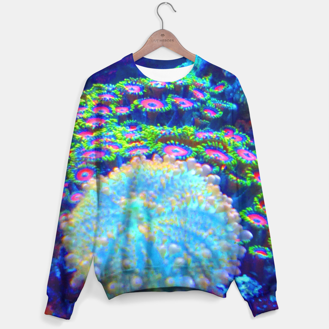 Image of Zoa Seascape Sweater - Live Heroes