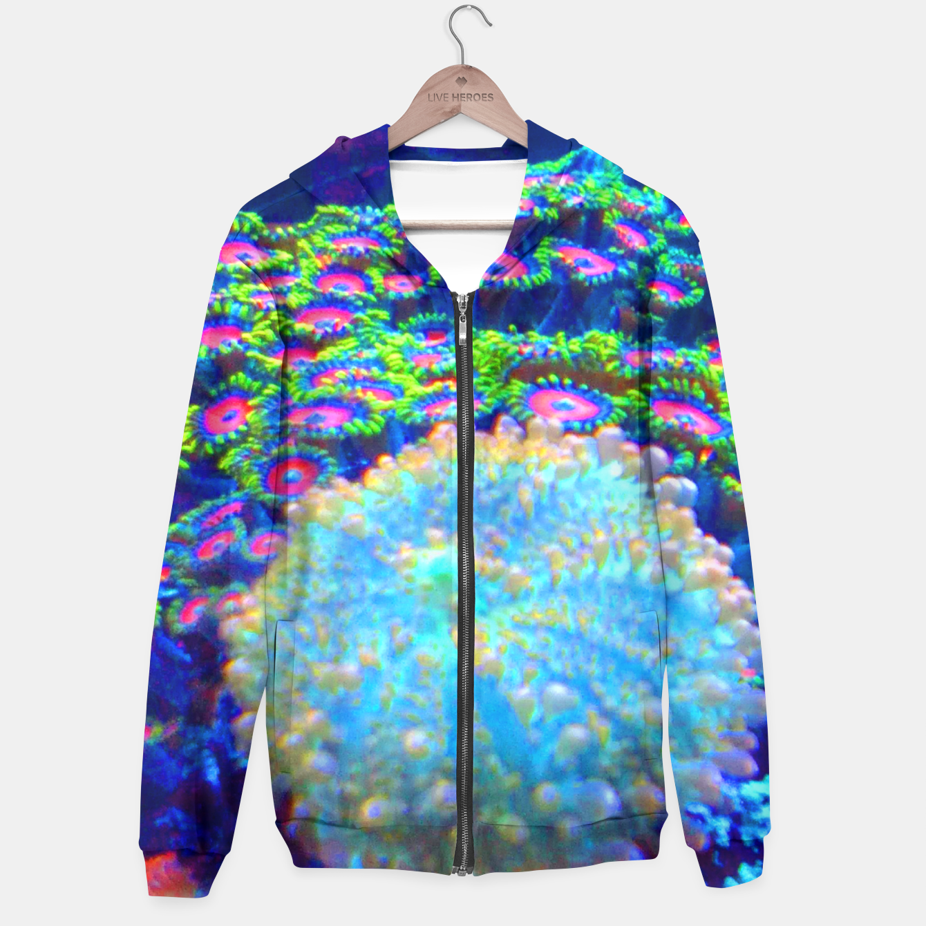 Image of Zoa Seascape Hoodie - Live Heroes