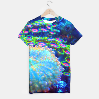 Thumbnail image of Zoa Seascape T-shirt, Live Heroes