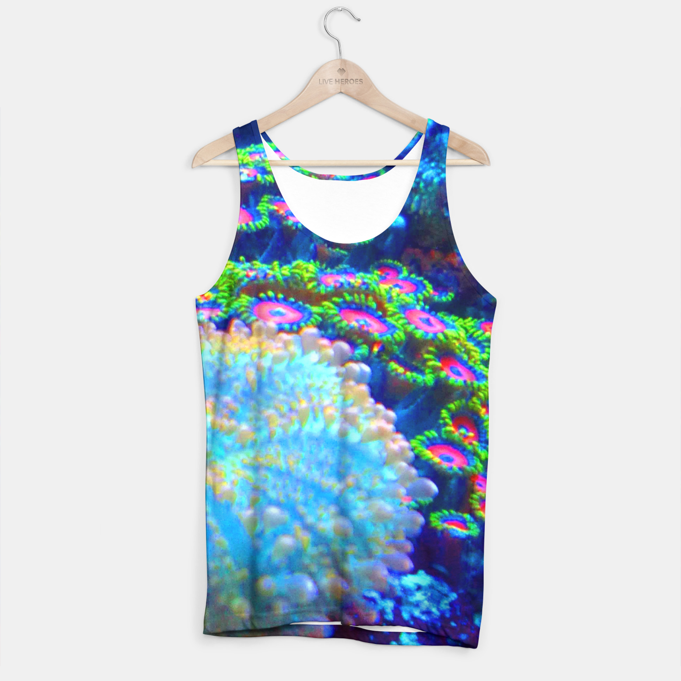 Image of Zoa Seascape Tank Top - Live Heroes