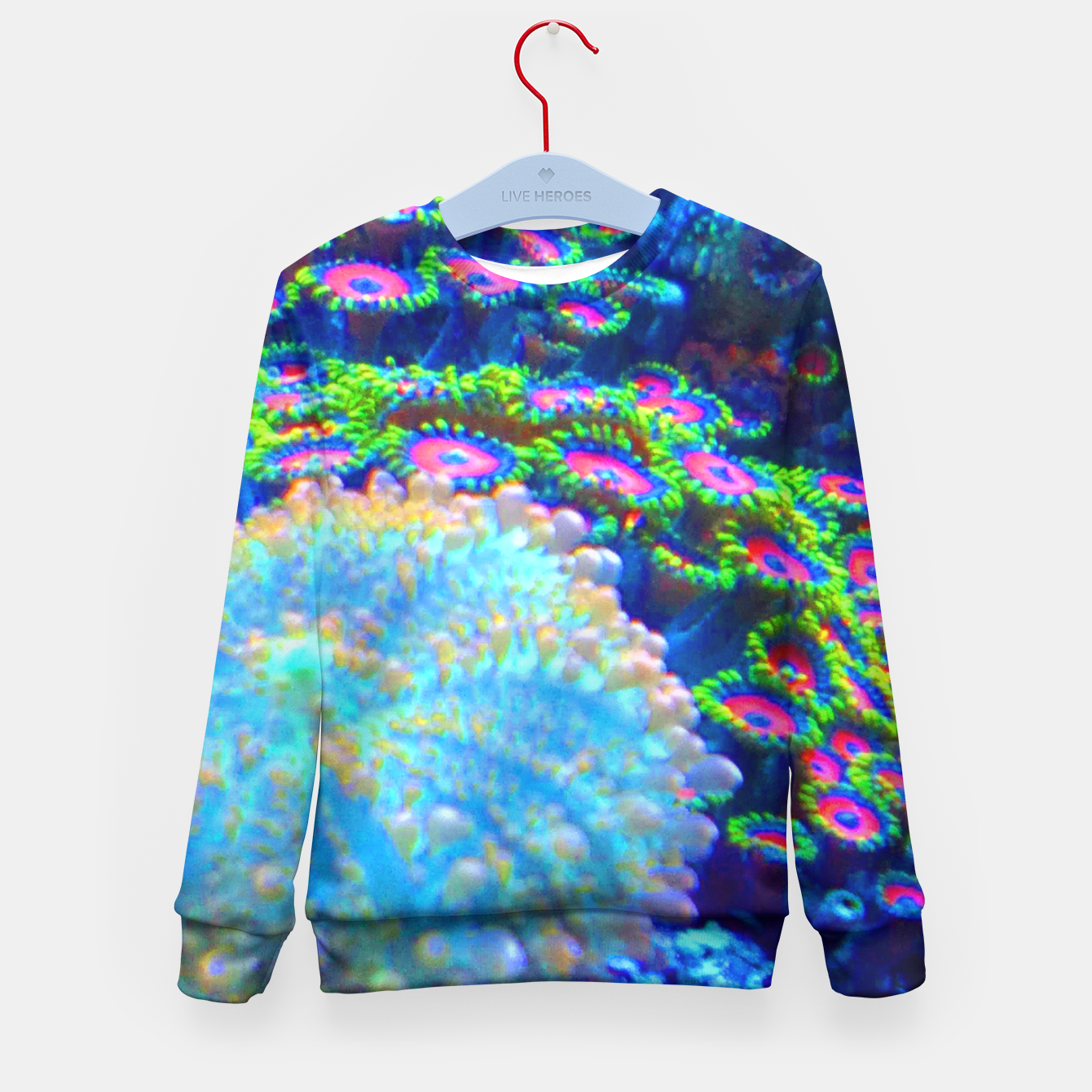 Image of Zoa Seascape Kid's Sweater - Live Heroes