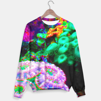 Thumbnail image of Psychedelic coral landscape  Sweater, Live Heroes